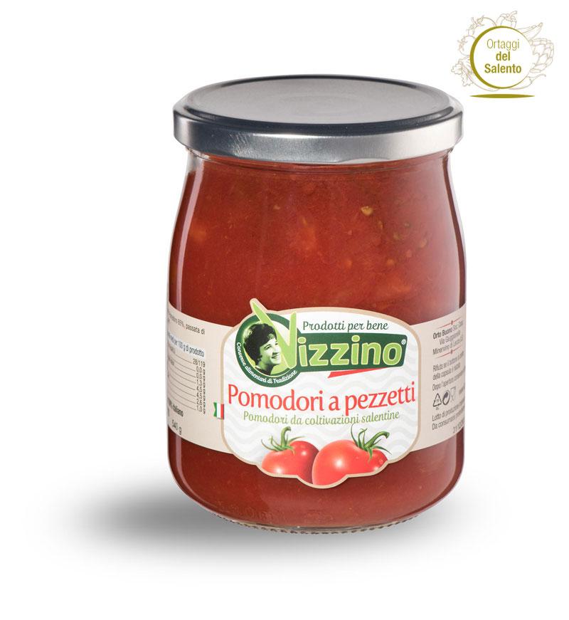 Conserva di Pomodori a Pezzetti Salento
