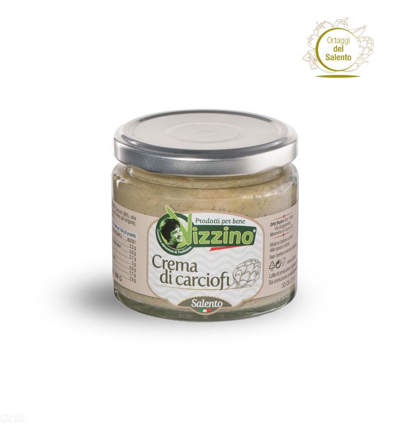 Crema di carciofi Vizzino, Salento