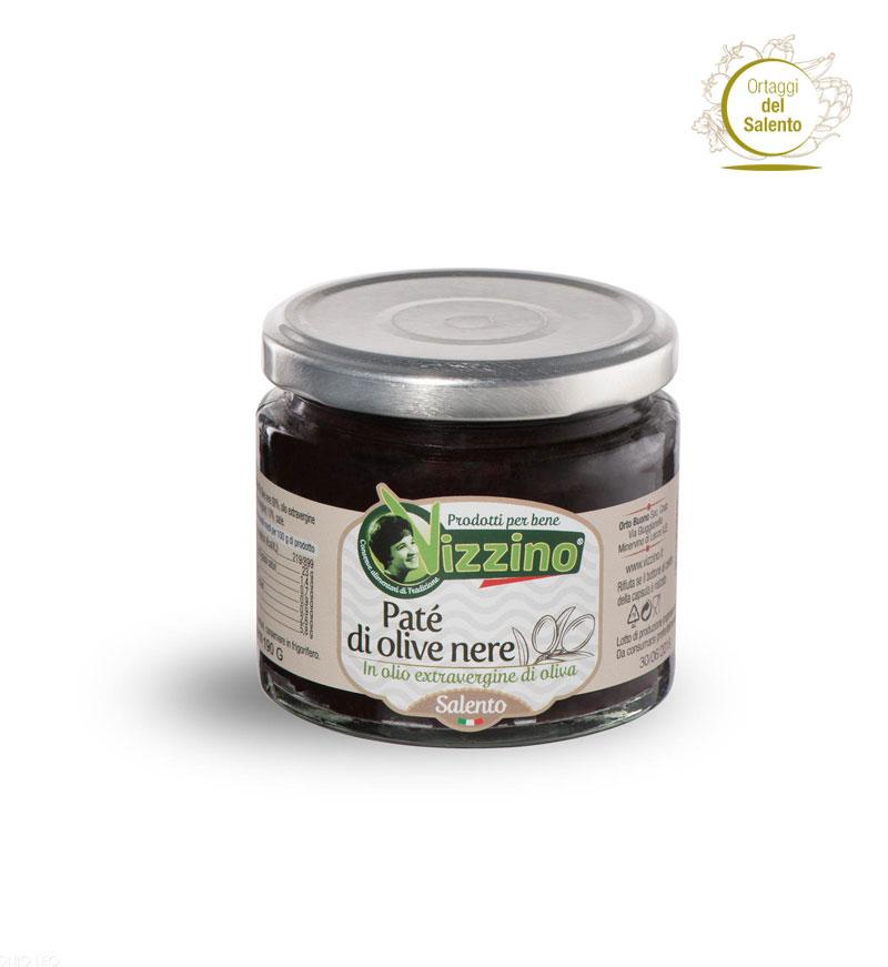 Patè di olive nere Vizzino, Salento