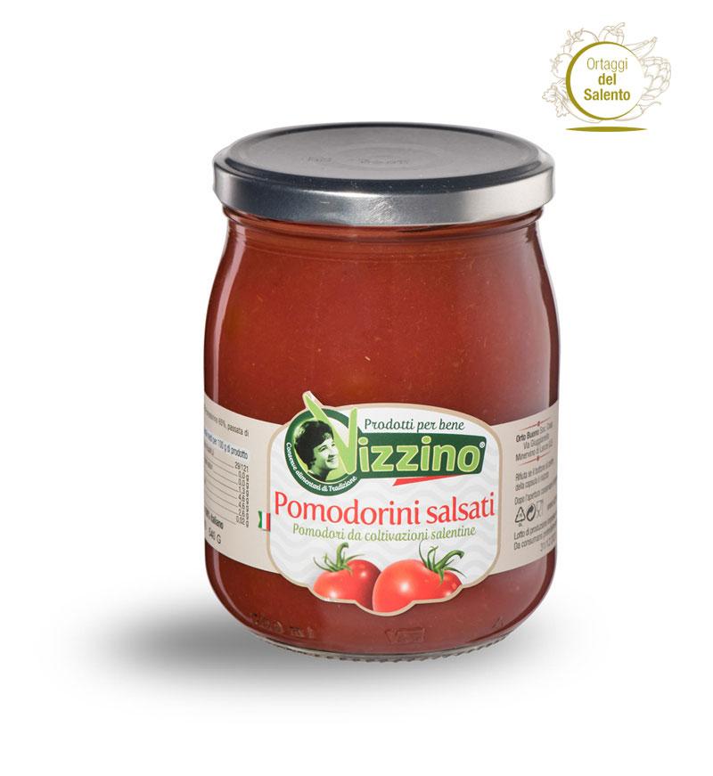 Pomodori salsati Salento Vizzino